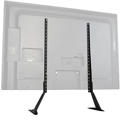 samsung tv base stand. vivo universal lcd flat screen tv table top stand / base mount fits 27\ samsung tv