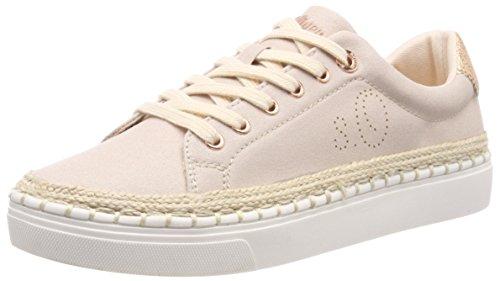 s.Oliver 23666, Zapatillas para Mujer Rosa (Rose/Gold)