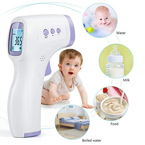 No-Touch Forehead Thermometer for Fever, Infrared Thermometer for Adults and Kids