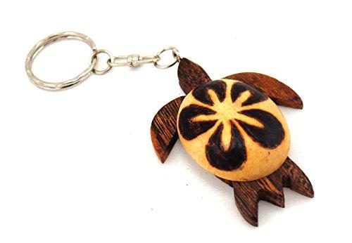 Amazon.com  Turtle Keychain-Hawaiian turtle key chain-Turtle keychains- Turtle  Keyring -Key Rings (Brown)  Clothing c9dc4d83d3