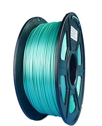 SunTop PLA 3d filamento de impresión 1,75 mm verde seda ...