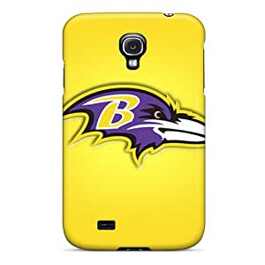 Galaxy High Quality Tpu Case/ Baltimore Ravens IXZGuhT5294 Case Cover For Galaxy S4