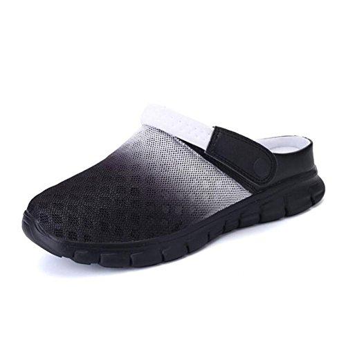 Donna Antiscivolo NSLXIE Infradito Beach Toe Closed Sandali Casual Taglia 45 EU40 Uomo Mesh Pantofole Scarpe 36 Summer 4wqw7dzA