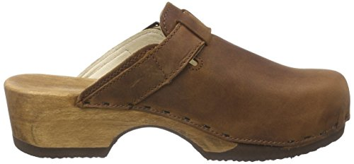 Brown Tabacco Clogs Manu 001 Women's Woody zW1tFg