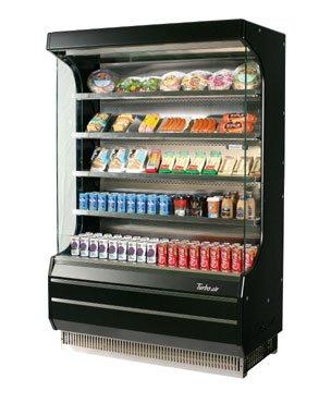 - Turbo Air TOM-40B Vertical Open Display Merchandiser