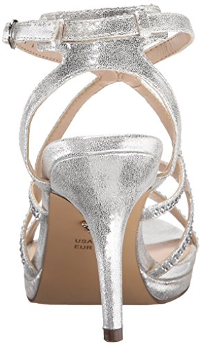 Varsha Yf Women's Skylight Dress Nina Silver Sandal HOwxEdq5