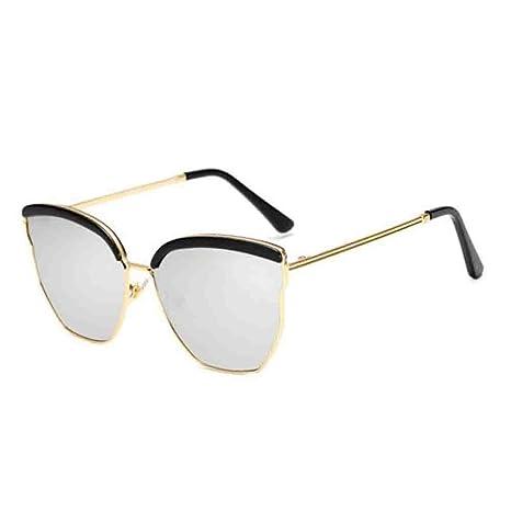 Hjyi Caja Grande Irregular Gafas de Sol SeñOra De La Moda ...