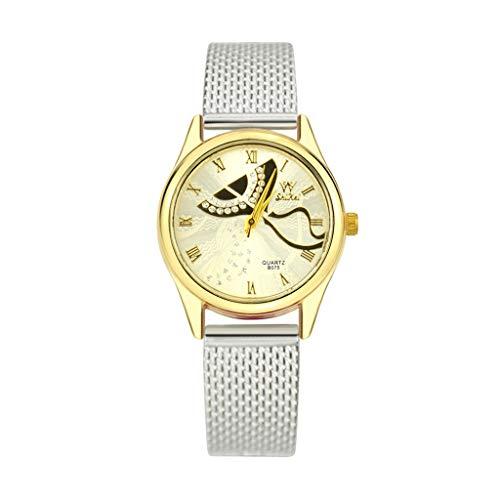 - Koolsants Women Quartz Watches Analogue Fashion Simple Casual for Ladies Silicone Strap Quartz Fashion Casual Watch Slim