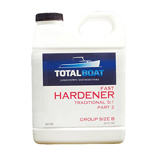 TotalBoat 5:1 Epoxy Fast Hardener (6 Ounces (for Quart of resin))