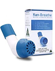 Natural Lung Exerciser & Mucus Removal Device - Naturally Clear Mucus, Phlegm From Airways & Improve Lung Capacity With This OPEP Respiratory Breathing Exercise Device - Made in Australia – White