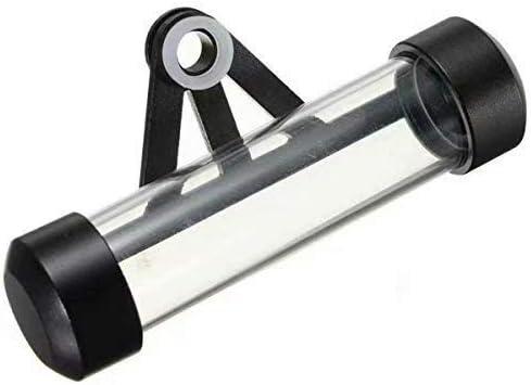 Tube de disque de taxe de moto support de tube de disque de taxe en alliage daluminium /étanche pour moto de scooter de moto Black