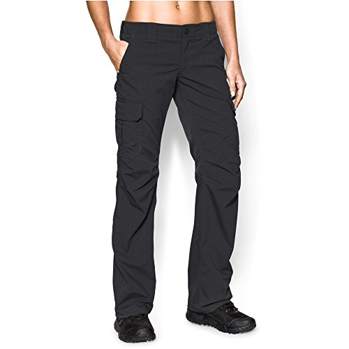 Under Armour Women's Tactical Patrol Pant, Black /Black, 12