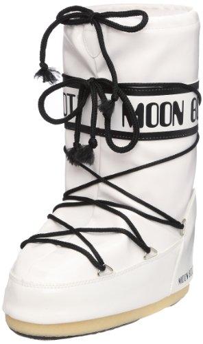 Vinil Bianco Boot Bianco Moon Unisex Stivali Nero Weiss adulto 5g4CnFqXxw