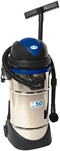 BIDONE ASPIRATUTTO 50 litri inox filtro lavabile