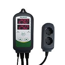 Inkbird ITC-308 Temperature Controller, Heizen & Kühlen, Thermostat 230V