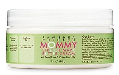 SheaMoisture Raw SheaCupuacu Mommy Stretch Mark Butter Cream | 6 oz.