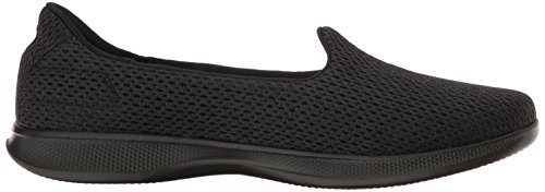 Skechers Performance Womens Go Step Lite Slip-On Walking Shoe Black Lux q8GO9n