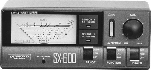 Diamond SX600 HF/VHF/UHF Wattmeter
