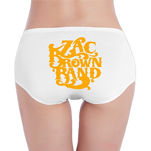 Hovalle Zac Brown Band Logo Low-Rise Sexy Ladies