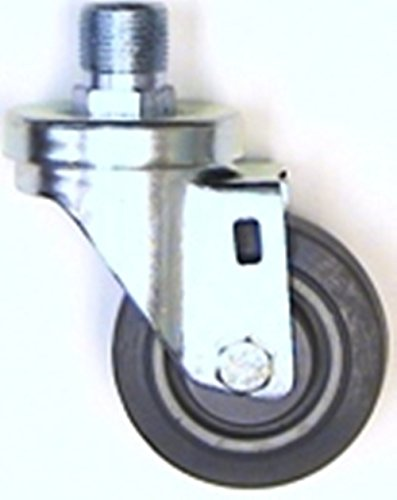 """3"""" Replacement Swivel Caster for Hobart Mixer Bowl Dolly, TPR Wheel from Access Casters Inc."""