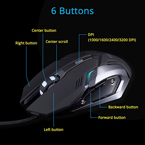 The zebronics gaming mouse