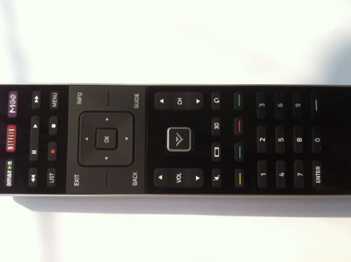 XRT510 Remote Control Works for VIZIO M-series Smart internet App TV M701D-A3R M551DA2 M551D-A2R M551DA2R M601D-A3 M601DA3 M601D-A3R M601DA3R M651D-A2 M651DA2 M651D-A2R M651DA2R M701D-A3 M701DA3 (Best Settings For Vizio M Series Tv)
