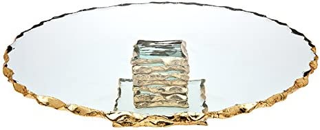 Godinger Silver Harper Cake Plate product image