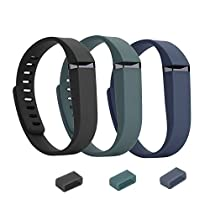 EverAct™ Classical Replacement Bands for Fitbit Flex - 3 pack Large