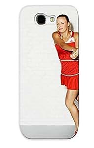 Tpu Fashionable Design Caroline Wozniacki Rugged Case Cover For Galaxy Note 2 New