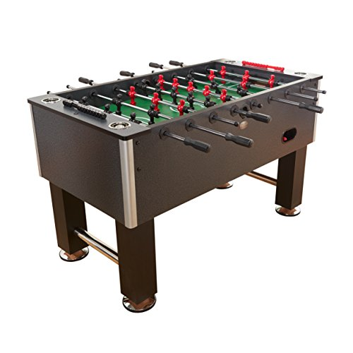 Playcraft Pitch Foosball Table, CHARCOAL Pitch Foosball Table