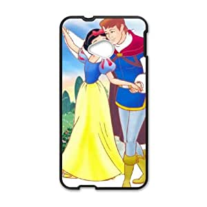 HTC One M7 Cell Phone Case Covers Black Snow White and the Seven Dwarfs Ehjrg