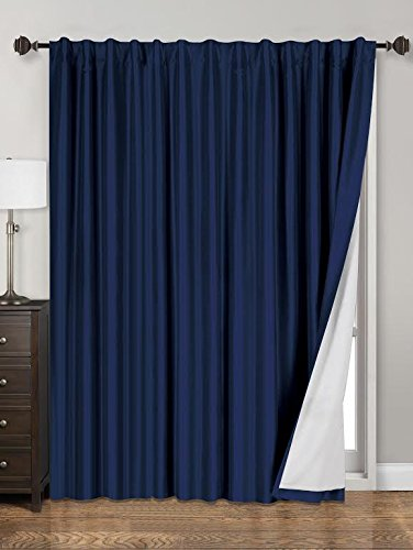 Siena Home Fashions Midnight Blackout Curtain (84