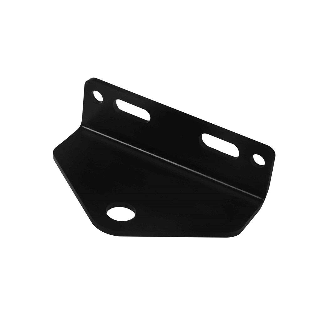 Universal Zero Turn Mower Trailer Hitch 5'' Outside Holes Centers Black Steel by HEKA