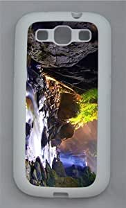 case cheap waterfall creek TPU White case/cover for Samsung Galaxy S3 I9300
