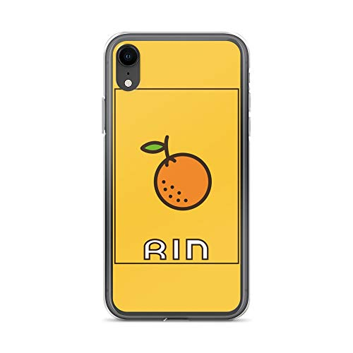iPhone XR Case Anti-Scratch Japanese Comic Transparent Cases Cover Vocaloid Kawaii Rin Orange Anime & Manga Graphic Novels Crystal - Novella Cover Trap