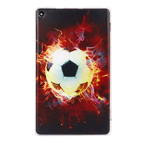 Price comparison product image Gotd Soft Gel TPU Case Cover For Amazon Kindle Fire 8 2017 7th (Xmas D)