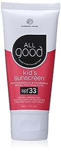 All Good Sunscreen Lotion SPF 33 Kids, 3 oz