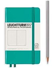Leuchtturm1917 307959 Notitieboek Master gestippeld Dotted smaragd