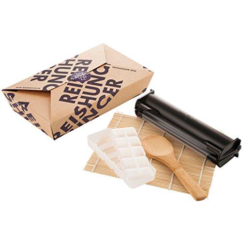 Reishunger Sushi Equipment Box - Mit Easy Sushi Maker 3,5cm - Ideales Zubehör Set für den perfekten Sushi Abend
