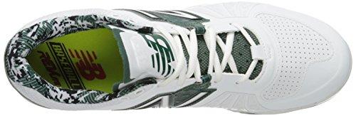 New Balance Herren L2000V2 TPU niedrigen Baseball-Schuh Weiß Grün