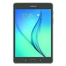 Samsung Galaxy Tab A 8 Inch; 16 GB Wifi Tablet (Smoky Titanium) SM-T350NZAAXAR