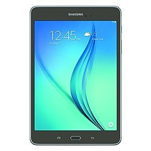 Samsung Galaxy Tab A 8″; 16 GB Wifi Tablet (Smoky Titanium) SM-T350NZAAXAR