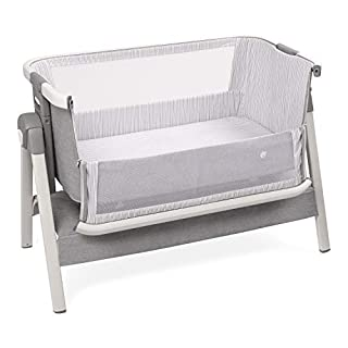 The Safe Way to Sleep Beside Your Baby All Night Long Sleep next to your baby in safety and comfort with the ComfyBumpy Bedside Bassinet. With this premium cradle attached to your bed, you can sleep right beside your newborn baby, and you won't even ...