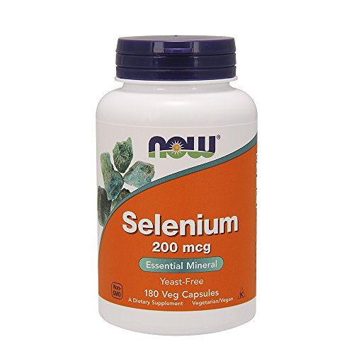 Now Foods Selenium, 180 caps / 200 mcg