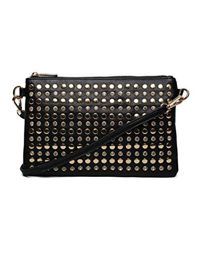 Black Studded Bag New Look - 5