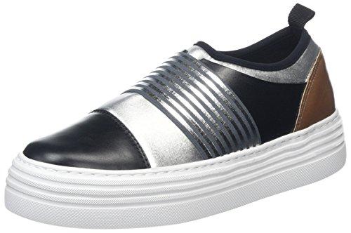 Mujer Sin neo bi Para Cordones vitbi Zapatillas sneakers cu 90b W oro Multicolor Pollini xWf48CYnq