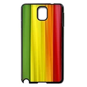 Samsung Galaxy Note 2 Cases Colorful Curtain, Anti Fall Colors Cases Jumphigh, {Black}