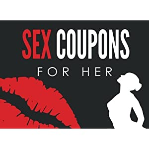 Sex Coupons for Her: Sex Coupons Book and Vouchers: Sex Coupons Book for Her: Naughty Coupons for Her: This sex things for her the perfect romantic … gift for women to your Valentine's Day