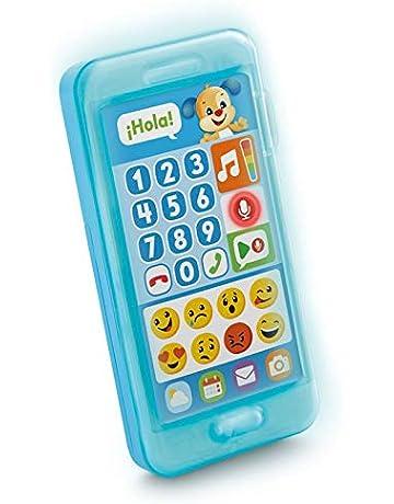 Fisher-Price Teléfono aprende con perrito, juguete bebé +1 año (Mattel FPR17