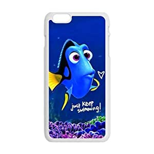 Turtle Rock blue lovely fish Cell Phone Case for iPhone plus 6